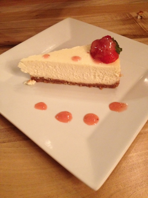 This cheesecake is legit.